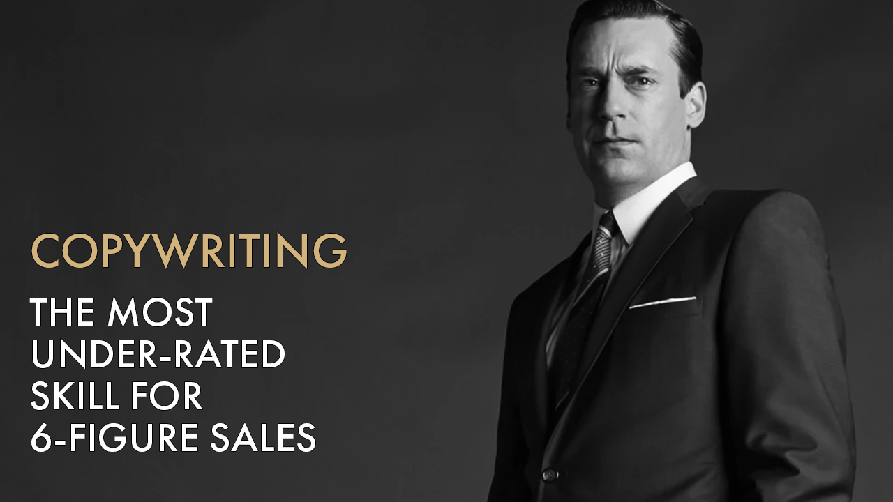 Consistently Get 6 Figure Sales With This Skill (Copywriting)
