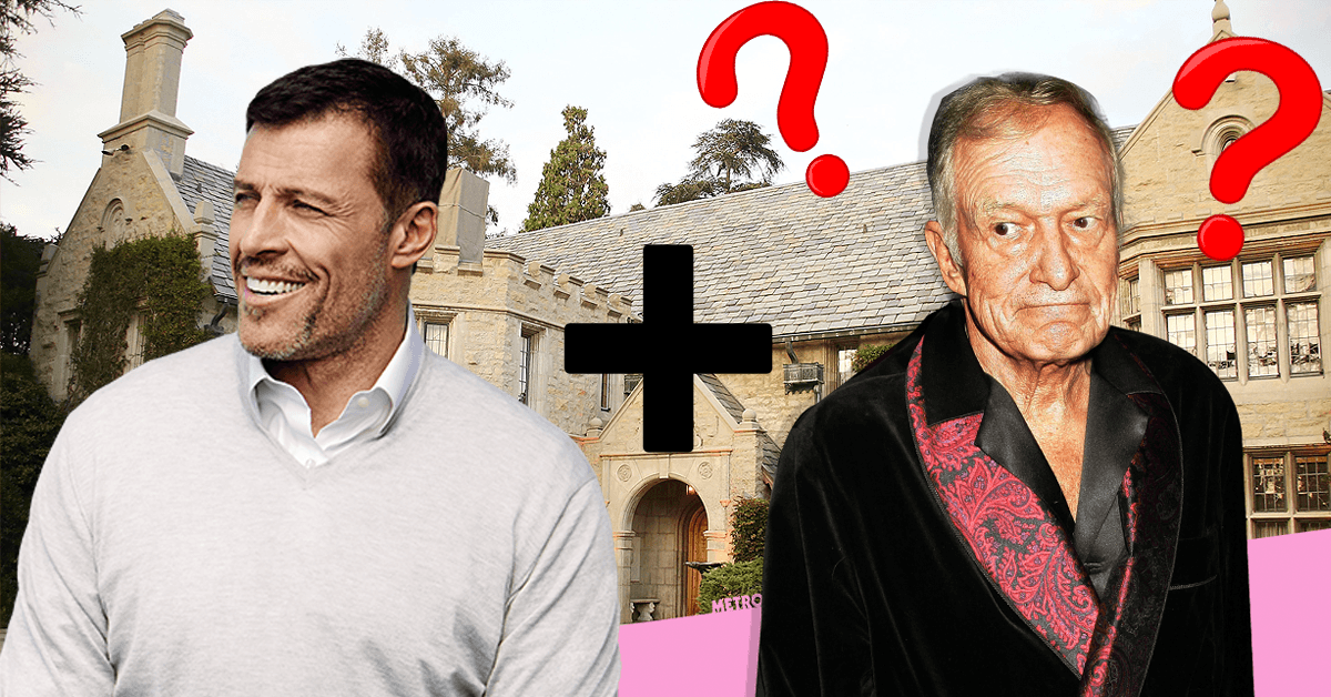 If Hugh Hefner Met Tony Robbins, This Is What You'd Get